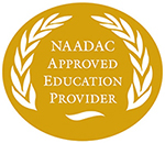 NAADAC approved seal